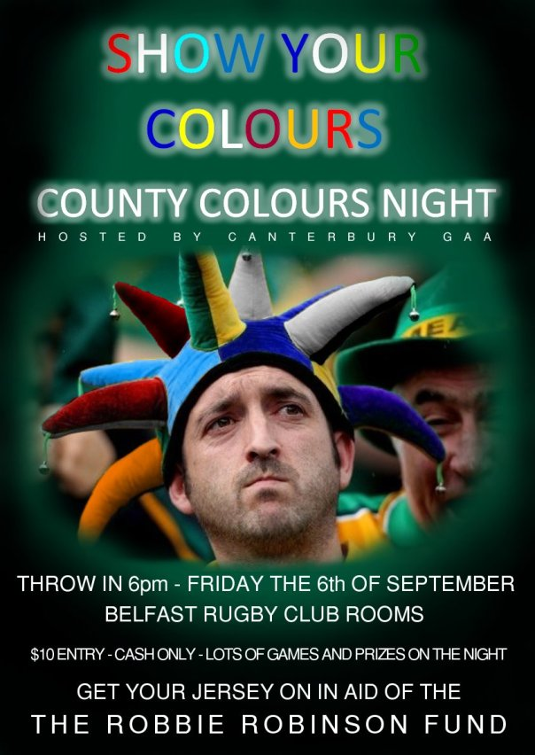 County Colours Night
